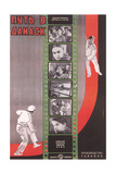 Russian Film Strip Poster Poster