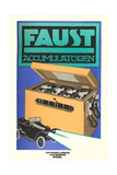 Ad for German Faust Battery Prints