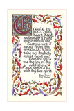 Fifty-First Psalm, King David Print