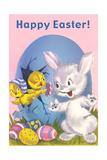 Rabbit, Chicks and Eggs - Reprodüksiyon