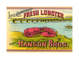 Canadian Fresh Lobster Poster