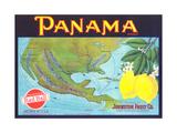 Panama Lemon Label Prints