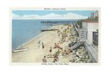 Beach, Oak Bluffs, Martha's Vineyard Posters