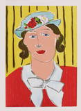 Femme au Chapeau Collectable Print by Henri Matisse