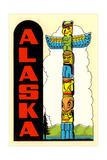 Alaska, Totem Pole Posters