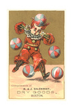 Boy Clown with Balls Prints