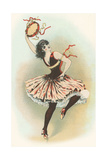 Dancing Gypsy Girl Poster