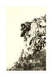 Vintage Old Man of the Mountain Poster