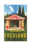 Travel Poster for Herculaneum Posters