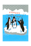 Season's Greetings, Penguin Band Posters