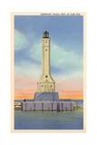 Huron Lighthouse, Lake Erie Poster