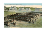Troop Parade, Ft. Oglethorpe Posters