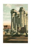 Columns at Luxor Print