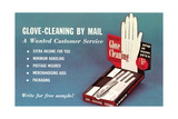 Glove Cleaning by Mail Poster