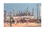 Dhurrumtollah Masjid, Calcutta, India Posters