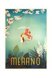 Merano, Italy Travel Poster Print