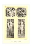 Art Deco Bas Reliefs Poster