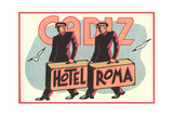Hotel Roma, Bellboys Prints