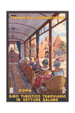 Travel Poster for Rome Print