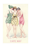 Vintage Bathing Beauties Art