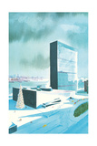 Rendering of Un Buildings Art