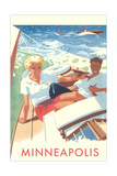 Sailing, Minneapolis Poster