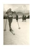 Ski Competitor Print