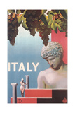 Travel Poster for Italy Prints