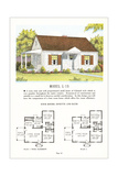 Model House and Floor Plan Posters