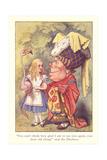 Alice in Wonderland, Duchess and Flamingo Prints