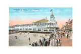 Steel Pier, Atlantic City Print