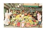 Impressive Market Display Kunstdrucke
