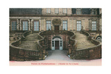 Fontainebleau Palace, Fer a Cheval Staircase Prints