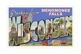 Greetings from Menomonee Falls Prints