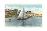 Edgartown Waterfront, Martha's Vineyard Posters