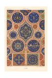 Arabic Tile Design Art