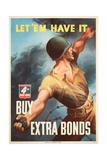 War Bond Poster Prints