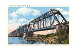International Bridge, Buffalo Print