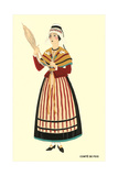 Native Costume of Comte De Foix Prints