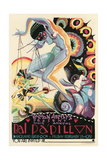 Art Deco Dance Poster Art