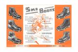 Ski Boots Poster