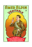 Amer Alpin Vertable Label Posters