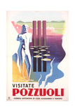 Travel Poster for Rome Pozzuoli Prints