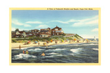 Falmouth Heights, Cape Cod Giclée-Premiumdruck