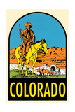 Decal of Colorado Prints