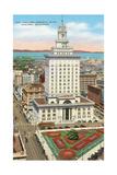 Oakland Memorial Plaza Print