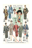 Twenties Clothes Catalog Poster