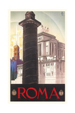 Travel Poster for Rome Plakat