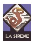 La Sirene Poster Prints