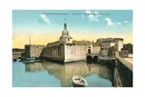 Fortress at Concarneau Prints